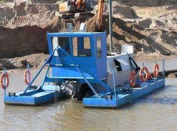 浅析定制河道淘金船几个要素