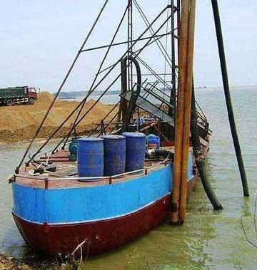 河池抽沙船
