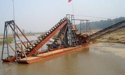 挖沙船工作原理了解一下