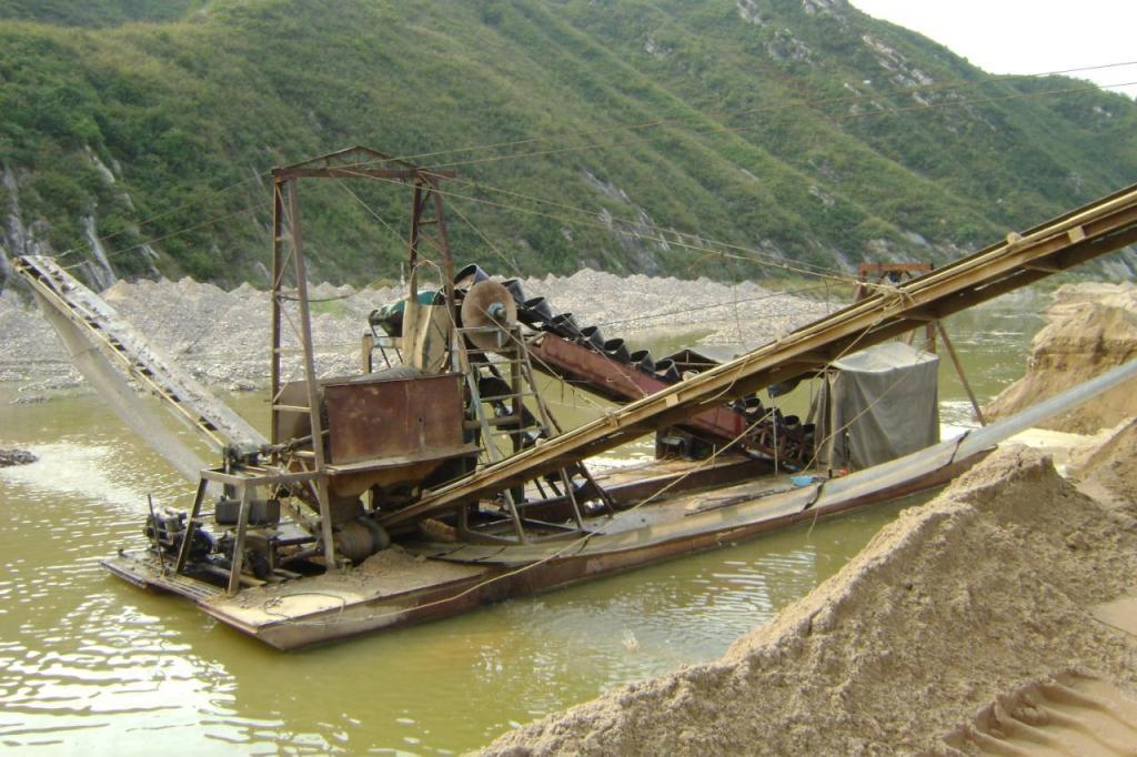 青州抽沙船的组成部分