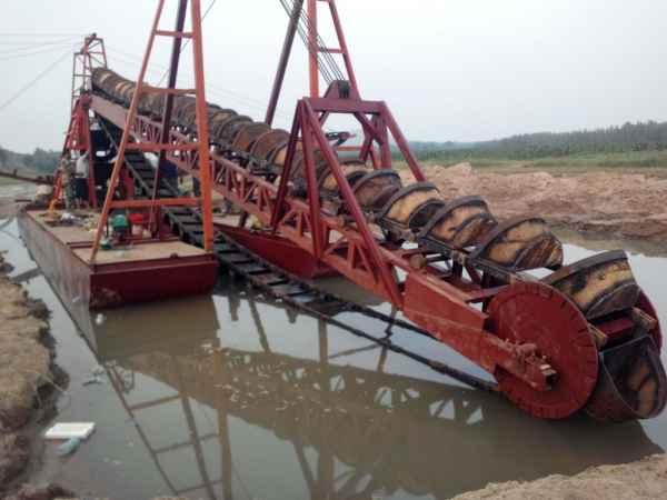 那些因素会影响挖沙船的工作效率