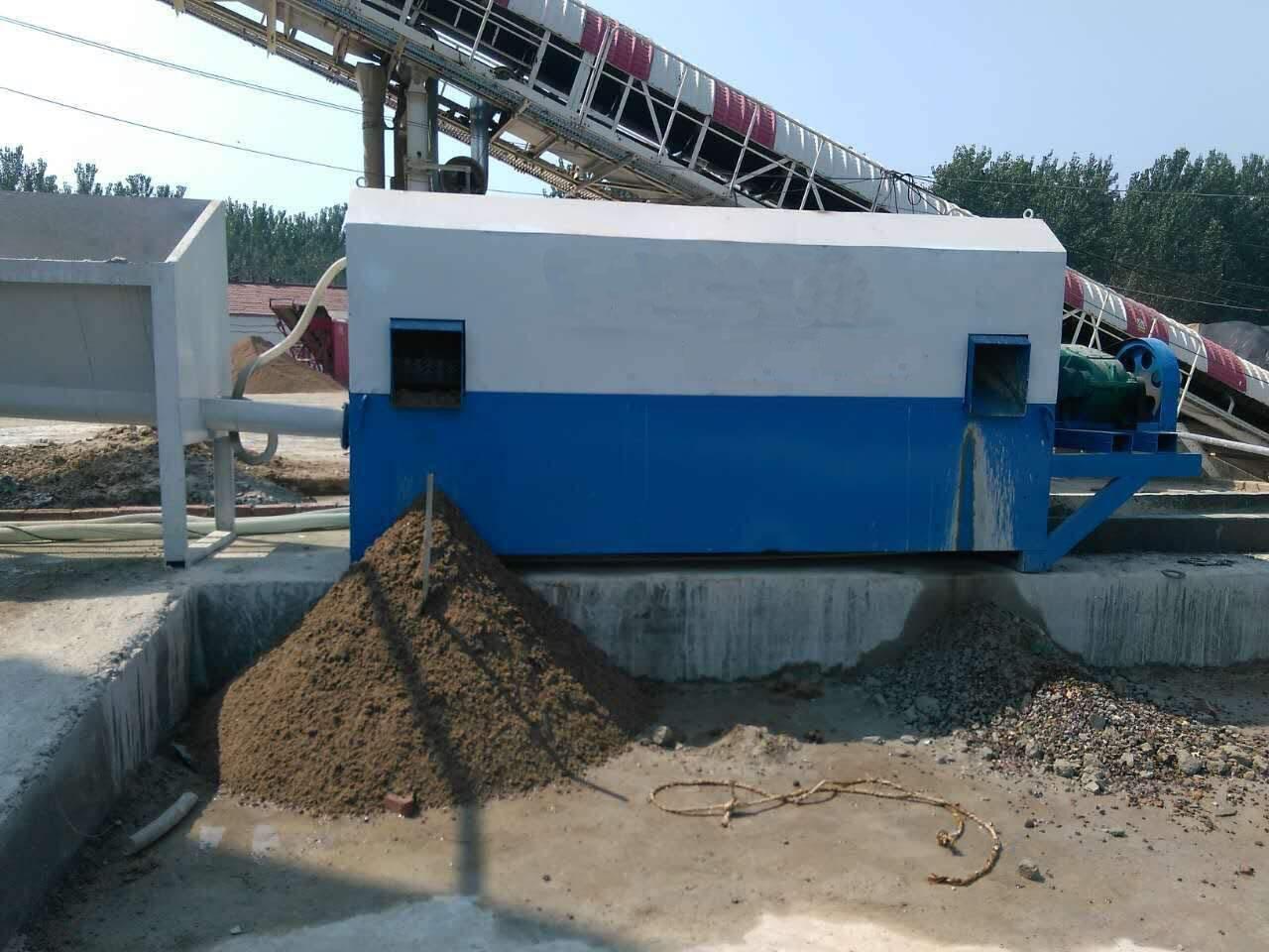 砂石分离机和混凝土搅拌站有什么联系