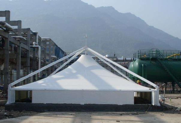 杭州膜结构污水池