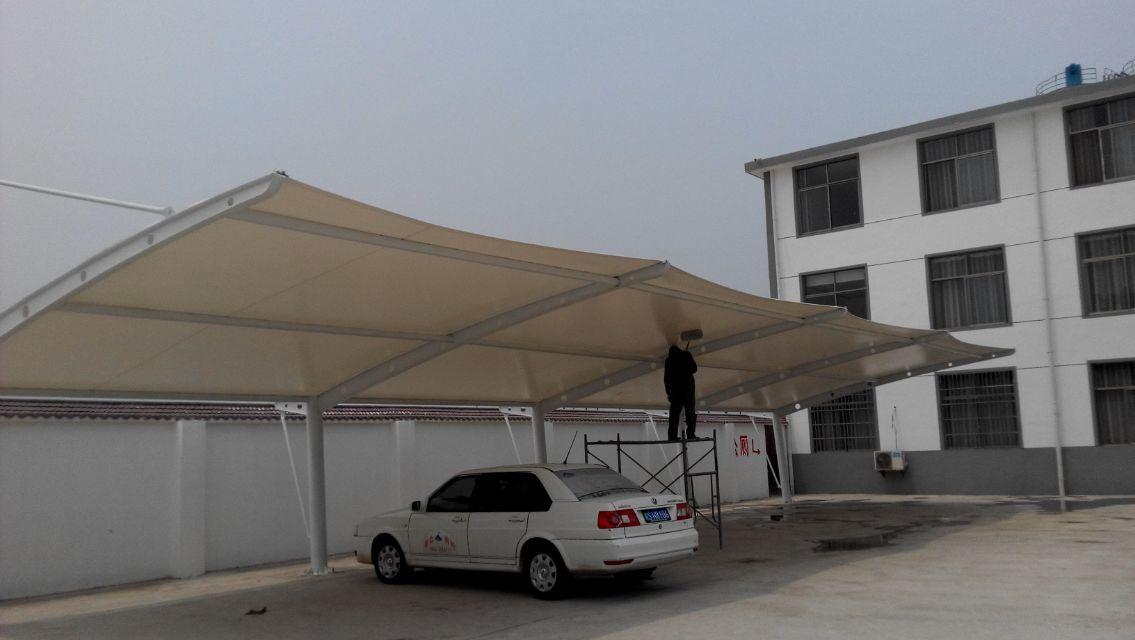 安徽膜结构停车棚