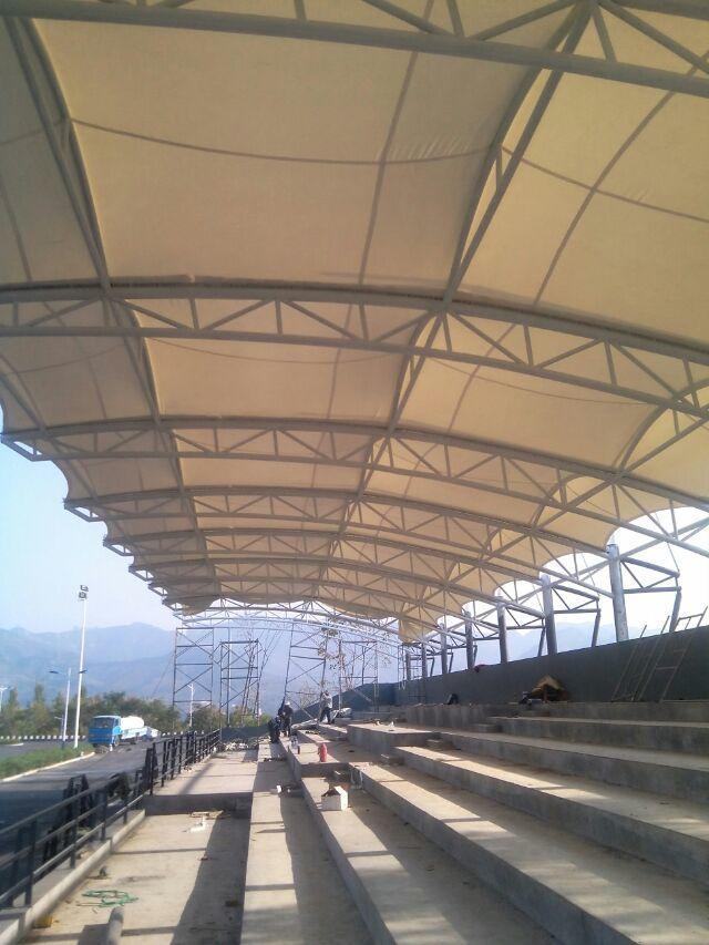 济南历城区膜结构看台