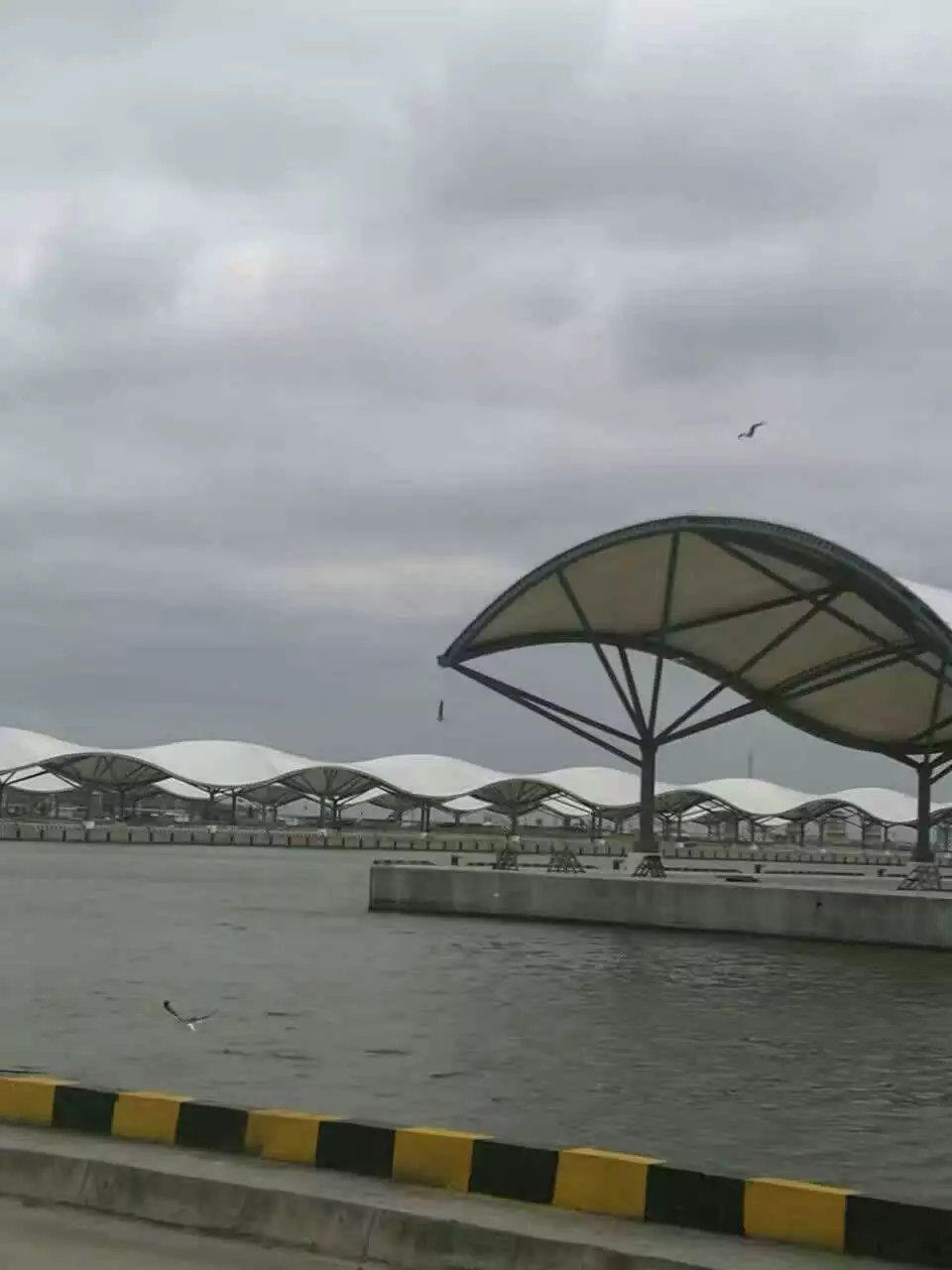 江蘇鹽城10萬平漁港碼頭