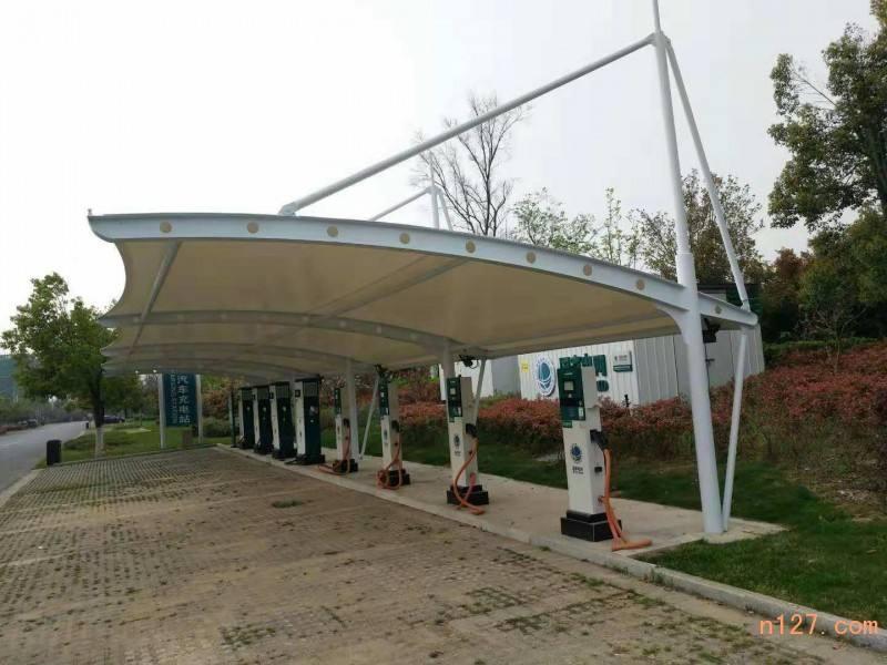 充电桩膜结构车棚