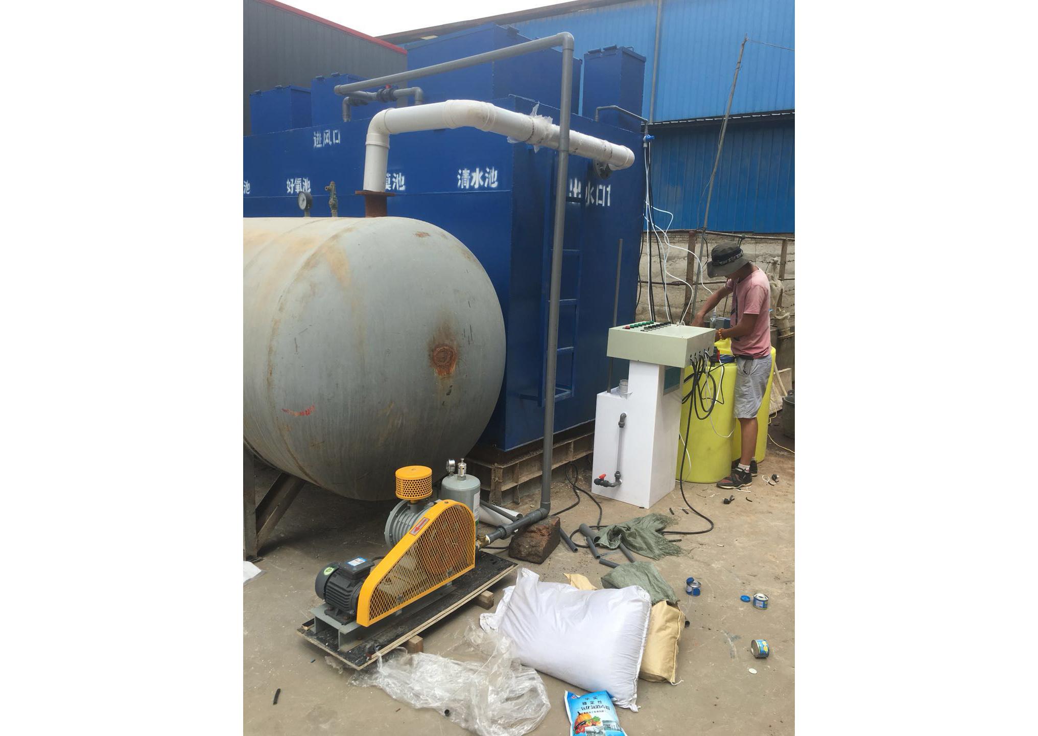 小哨泡沫厂污水处理室设备