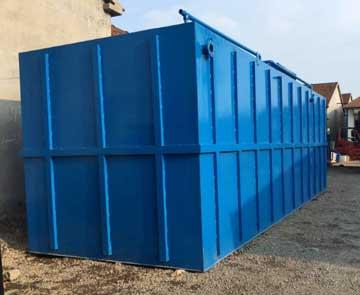 常见污水处理设备各个环节的工作原理介绍