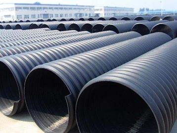聚乙烯钢带增强缠绕波纹管