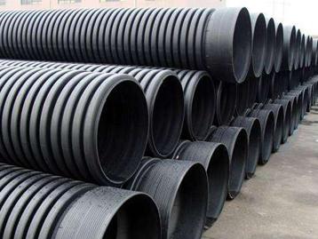 重庆聚乙烯钢带增强缠绕波纹管
