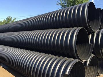 聚乙烯钢带增强缠绕波纹管厂家