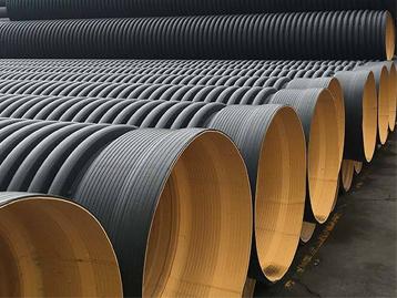 增强聚丙烯(FRPP)双壁加筋波纹管厂家