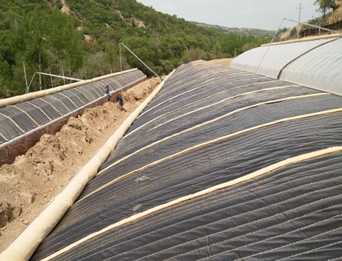 宁夏半坡温室大棚建造