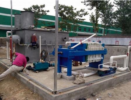 云南养牛场污水处理设备