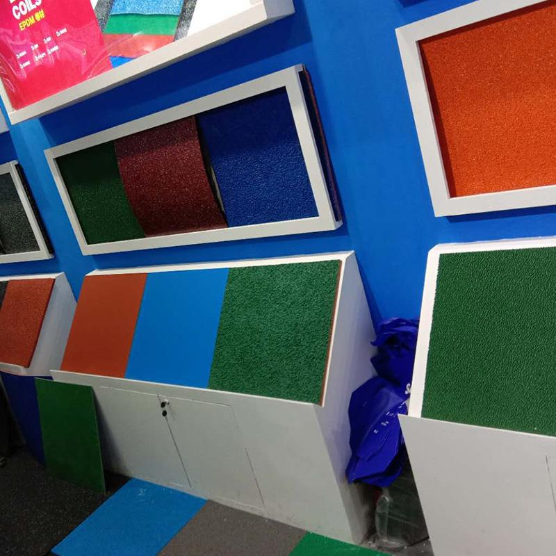 潍坊塑胶地板展会案例
