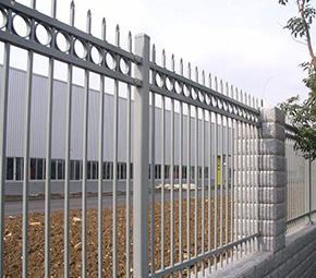 工厂围墙护栏