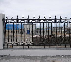 工地铁艺护栏