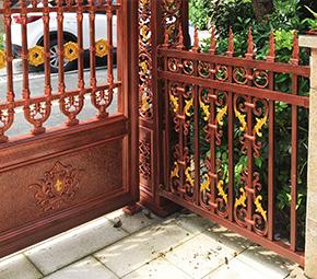 庭院木质护栏