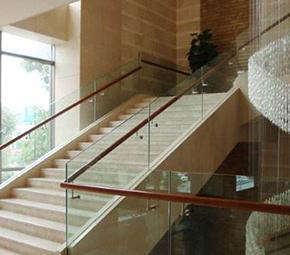 家用玻璃楼梯扶手