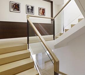 玻璃楼梯扶手(家用)