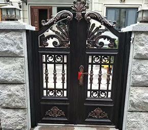 精制铝艺庭院门
