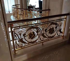 纯铜楼梯扶手