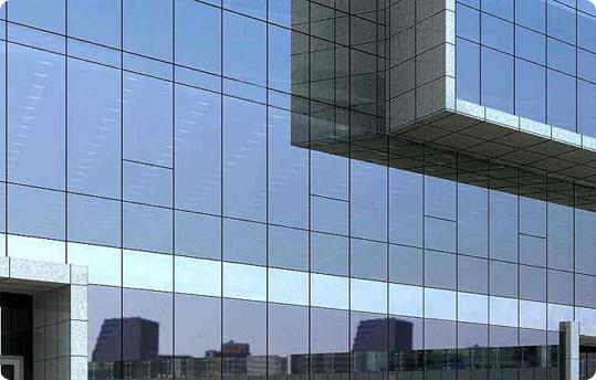 彩釉钢化玻璃性能及应用