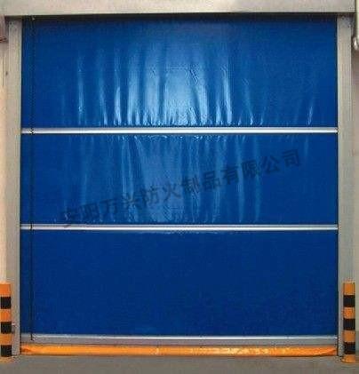 复合防火卷帘门安装