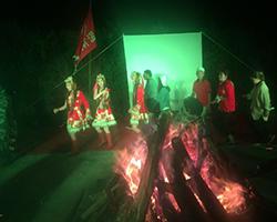 篝火晚会活动