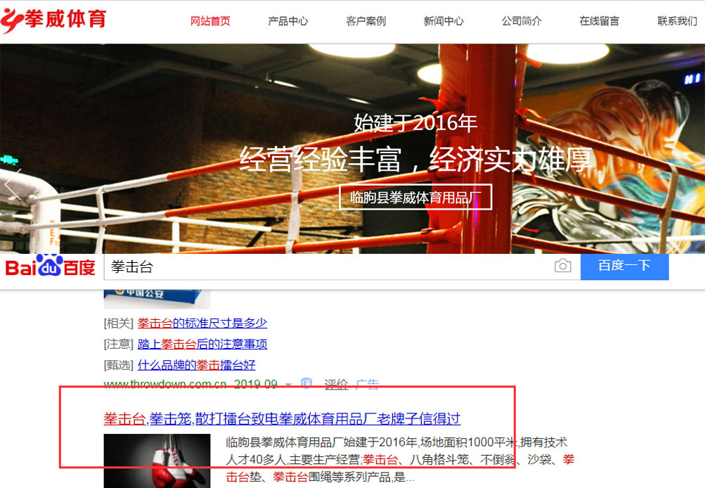 临朐县拳威体育用品厂