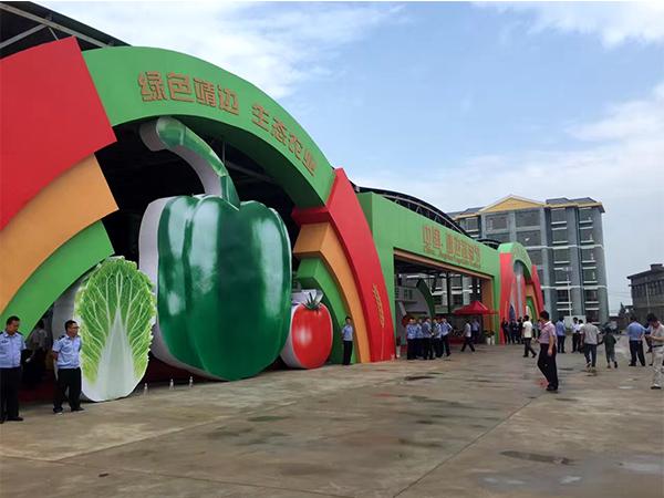 第一届榆林蔬菜节举办
