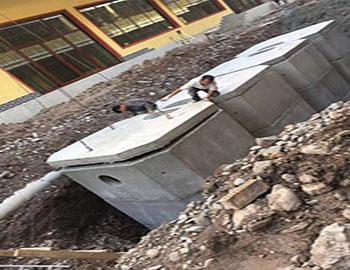 临洮棚户区水泥组合式化粪池定制