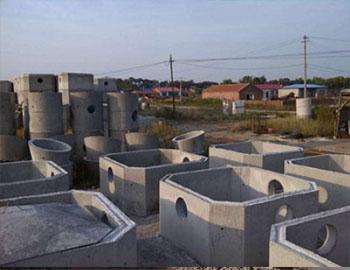 陇西正大药业水泥蓄水池安装