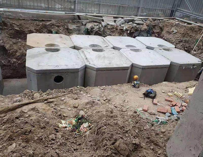组合式水泥化粪池