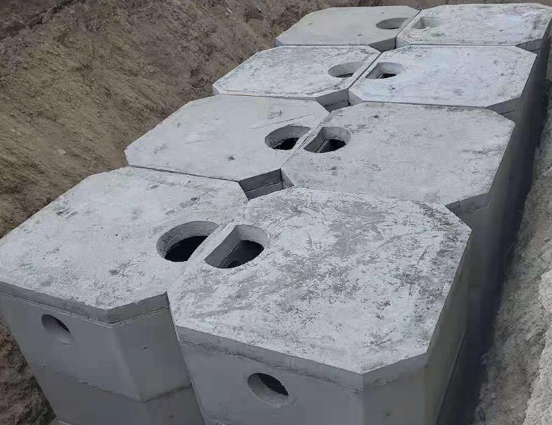 白银中天化工水泥隔油池施工