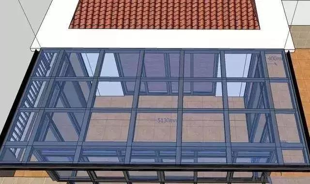 铝合金阳光房生产