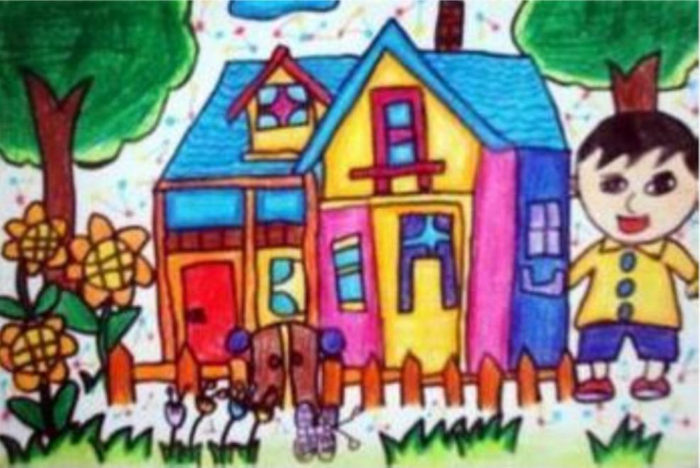 """学儿童画的孩子们其实并不在意""""画得像不像""""图片"""