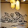 饭店墙体彩绘