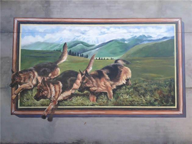 铜川手绘壁画