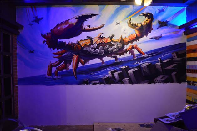 餐厅手绘墙公司