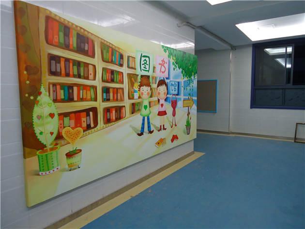 学校手绘墙画