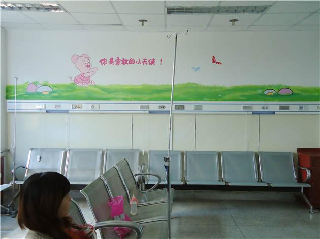 儿童医院手绘墙