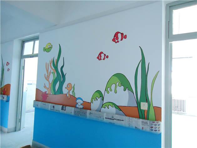 儿童医院手绘墙画