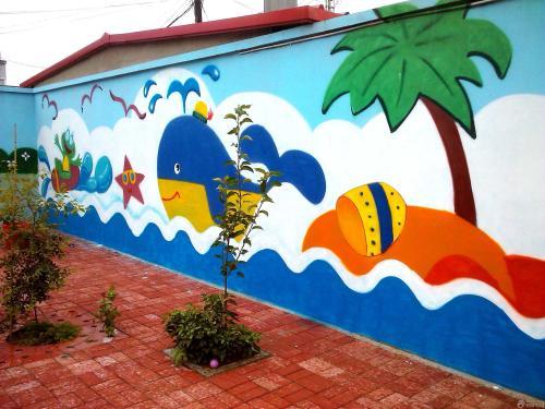 西安墙体彩绘