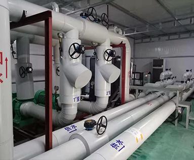 水地源热泵机房