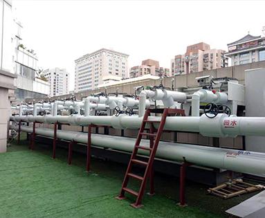 室外水地源热泵