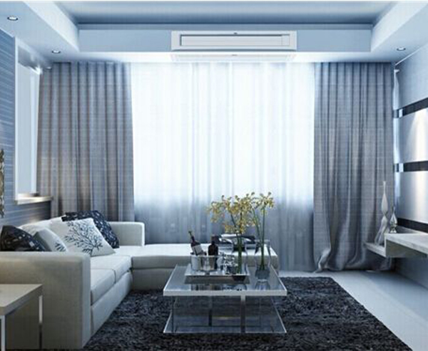 家用中央空调安装实景