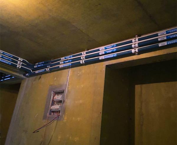 家用中央空调安装实例