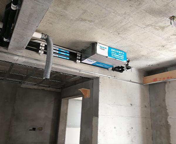家用中央空调安装实例四